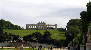 Schonbrunn Palace outside Vienna is a major part of Austria tourism.