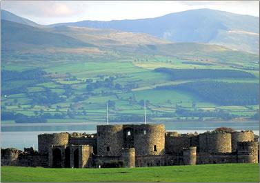 Beaumaris Castle, Wales.