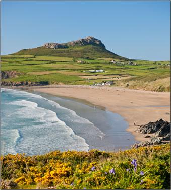 Whitesands Bay, Pembrokeshire Coast National Park, Wales.