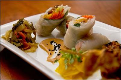 ZenKitchen serves vegan cuisine in Ottawa, Canada.