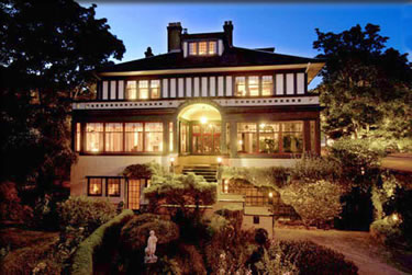 Sleeping with history, b&b accommodation in Victoria, British Columbia.