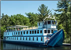 Article about small-ship cruising on Ontario's canals, rivers and lakes.