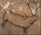 Illustrated article about pre-historic Ice Age cave art, best Ice Age art open to the public in Europe.