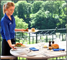 Restaurants in Wales, Scotland, England and Northern Ireland that offer local dishes and a fabulous view.