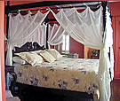 Article about historic accommodations in Florida's Amelia Island and St. Augustine.