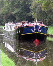 Article about Canal Barging in Burgundy, France.