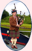 European Waterways Scottish Highlander barge cruise.