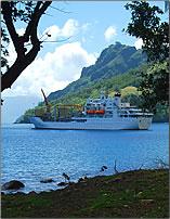French Polynesia freighter, Aranui 3.