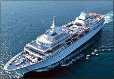 Aegean Odyssey educational cruiseship, Voyages to Antiquity.