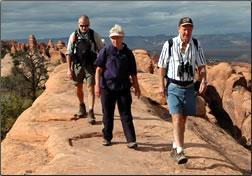 Walking the World photo of tour participants.