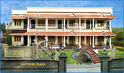 Karthika Plaza Tourist Resort, Kerala, India.
