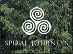 Spiral Journeys logo.