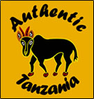 Authentic Tanzania african safaris logo.