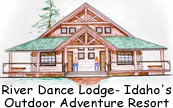 River Dance Lodge logo.