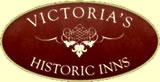 Victoria Historic Inns logo in British Columbia, Canada.