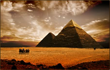 Egyptian pyramids: Journeys of the Spirit tours.