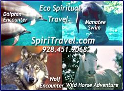 SpiriTravel.com website, wellness and spiritual vacations.
