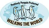 Walking the World tour company logo.