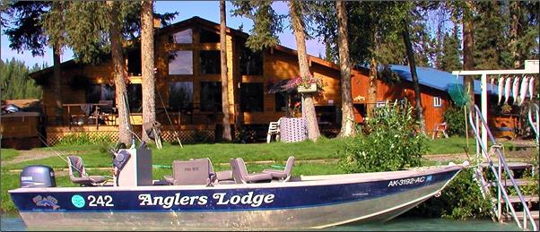 Anglers Lodge, Kenai Peninsula, Alaska. Anglers Lodge