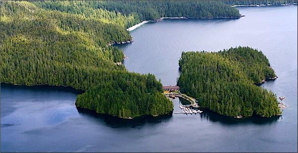 Eagle Nook Resort, West Coast of Vancouver Island, B.C. Eagle Nook Resort