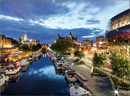Le Boat launches first North American destination for its self-skippered cruisers exploring Canada's historic Rideau Canal.