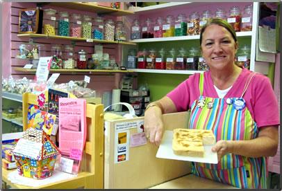 Steveston Candy Dish shop, Steveston, B.C.