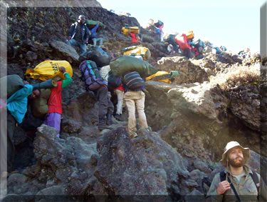 Article about climbing Mt. Kilimanjaro in Tanzania with a small group tour.