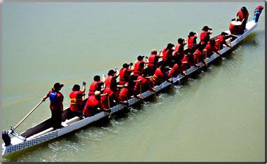 Steveston Dragon Boat Festival in August each year.