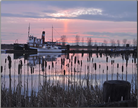 A Steveston sunset, an article about things to do in Steveston B.C.