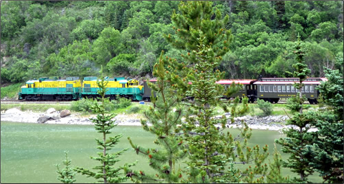 The historic White Pass & Yukon Train introduces visitors to Gold Rush history from 1897.