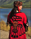 Yukon Adventures First Nations costume.