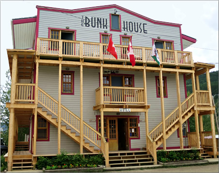 Dawson City's architecture is colorful and mostly historic, a pleasure to stroll its wood sidewalks and stay in classic hotels.