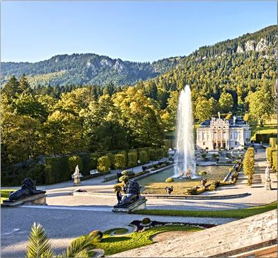 Bavaria-Schloss-Linderhof