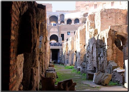 Colosseum-Underground-Passage