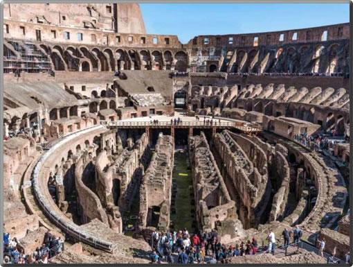 Rome-Colosseum-Underground-Passages