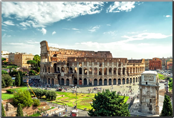 Rome-Italy-Colosseum