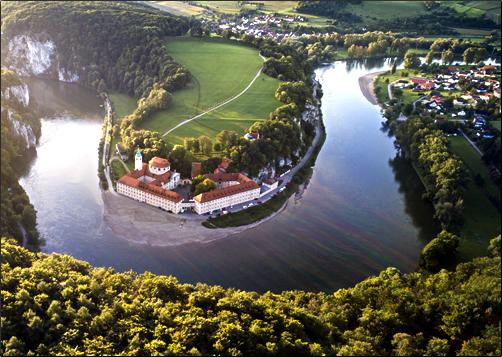 Weltenburg-Abbey-in-Danube-Gorge
