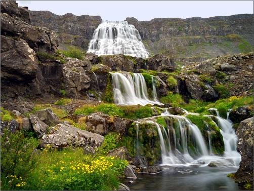Iceland-Dynjandi-Waterfalls