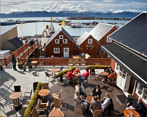Iceland-Husavik-Village