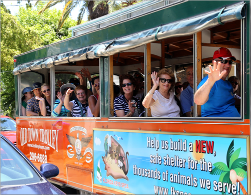 Key-West-Old-Town-Trolley