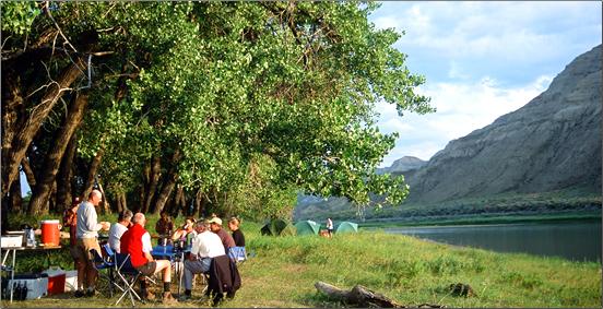 ROW-Adventures-Missouri-River-Campsite