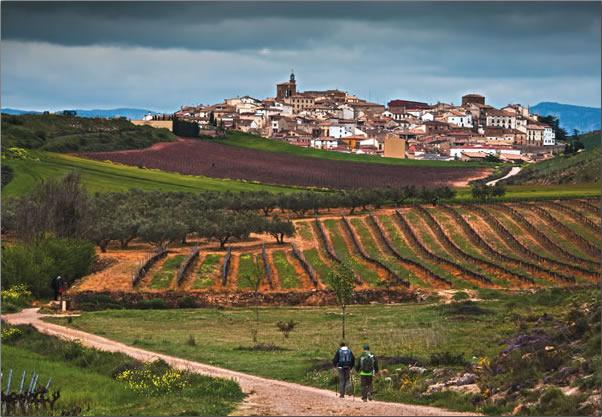 Camino-Cirauqui-Village