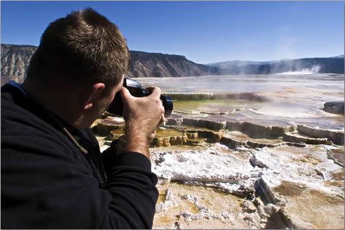 Yellowstone-Park-Mammoth-Hotsprings