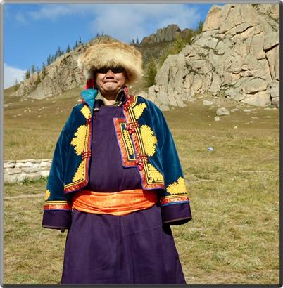 Mongolian-Shaman