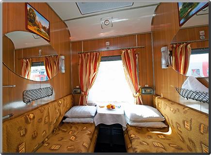 Trans-Siberian-Railway-Cabin
