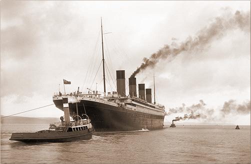 Titanic-Sea-Trials
