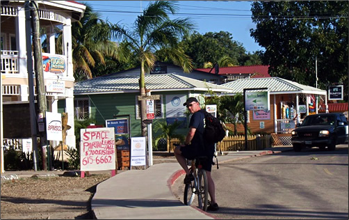 Belize-Cayes-Placencia-Town