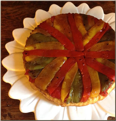 Rainbow-Bell-Pepper-Torte