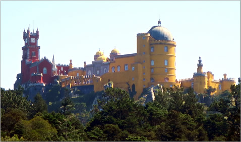 Portugal-Sintra-Castles