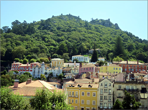 Portugal-Sintra-Town